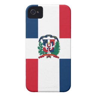 Dominican flag all over design iPhone 4 cover