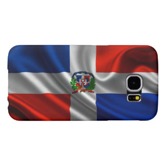 Dominican Flag Fabric Samsung Galaxy S6 Cases