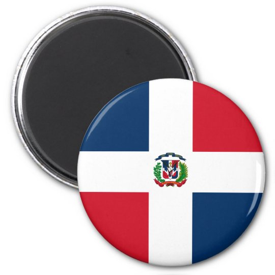 Dominican Flag Magnet