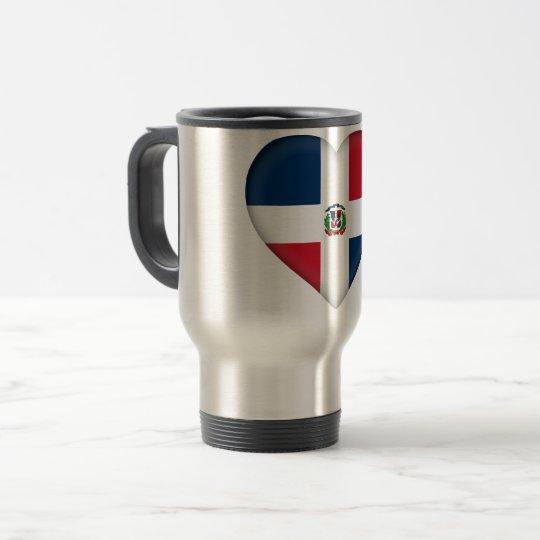 Dominican Flag Travel Mug