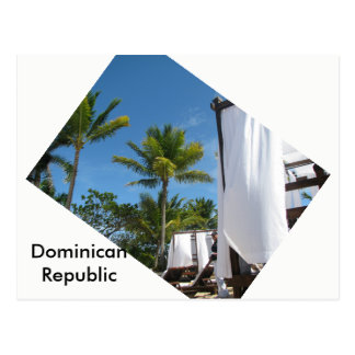 Dominican postcard