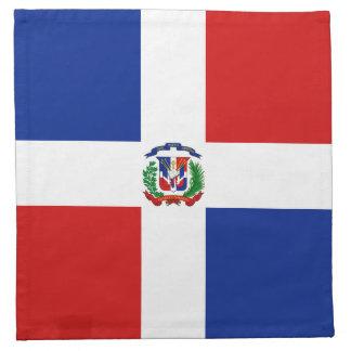 Dominican Rep. Flag Napkin