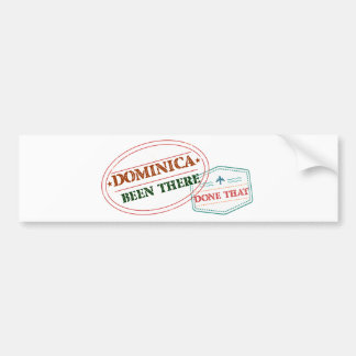Dominican Republic Been There Done That Bumper Sticker