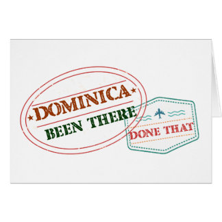 Dominican Republic Been There Done That Card