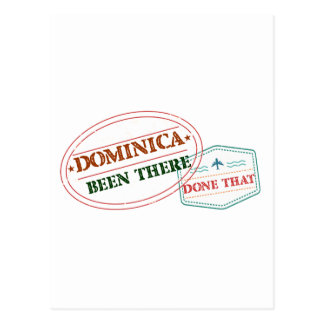 Dominican Republic Been There Done That Postcard