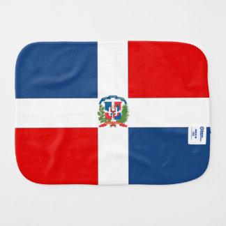Dominican Republic Baby Burp Cloth