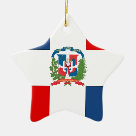 Dominican Republic Ceramic Star Decoration