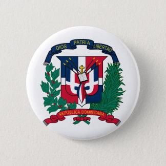 Dominican Republic coat of arms 6 Cm Round Badge