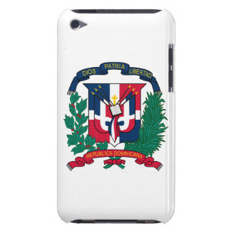 Dominican Republic Coat of Arms Barely There iPod Cases