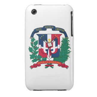 Dominican Republic Coat of Arms iPhone 3 Case-Mate Cases