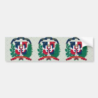 Dominican Republic Coat of Arms detail Bumper Sticker