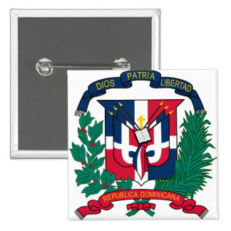 Dominican Republic Coat of arms  DO Pin