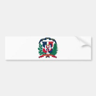 Dominican Republic Coat of arms  DO Bumper Sticker
