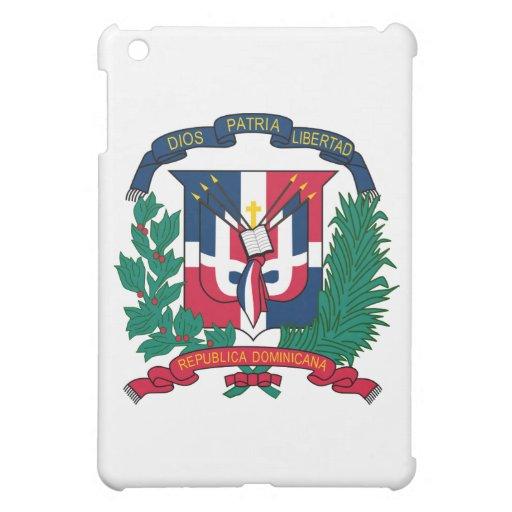 Dominican Republic Coat of Arms iPad Mini Cases