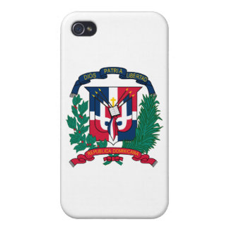 Dominican Republic Coat of Arms Cover For iPhone 4