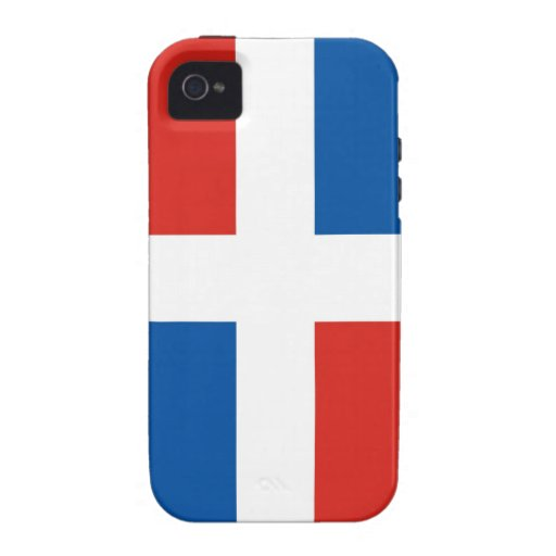 dominican republic country flag case Case-Mate iPhone 4 cases