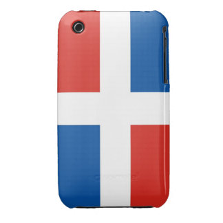 dominican republic country flag case iPhone 3 cases