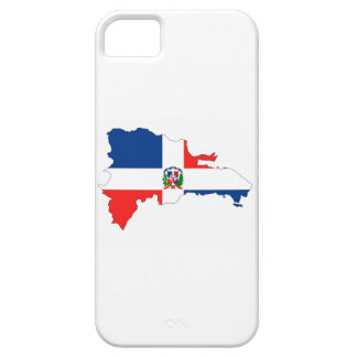 dominican republic country flag map shape symbol iPhone 5 covers