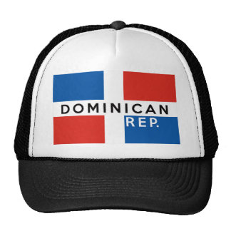 dominican republic country flag symbol name text cap