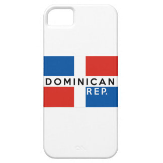 dominican republic country flag symbol name text iPhone 5 covers