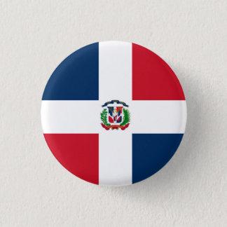 Dominican Republic Flag 3 Cm Round Badge