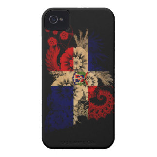 Dominican Republic Flag Case-Mate iPhone 4 Cases