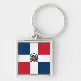 Dominican Republic Flag DO Key Chains