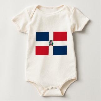 Dominican Republic Flag DO Bodysuit