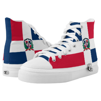 Dominican Republic Flag High Tops