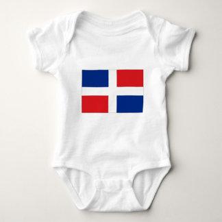 Dominican Republic Flag Infant Creeper