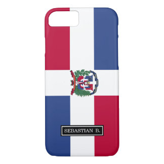 Dominican Republic Flag iPhone 7 Case