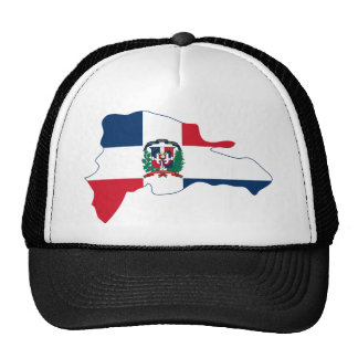 Dominican Republic Flag Map DO Cap