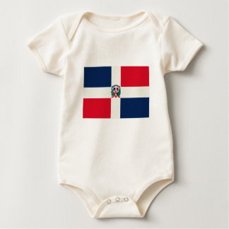 Dominican Republic Flag Oil Painting Bodysuits