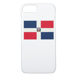 Dominican Republic Flag Oil Painting iPhone 7 Case