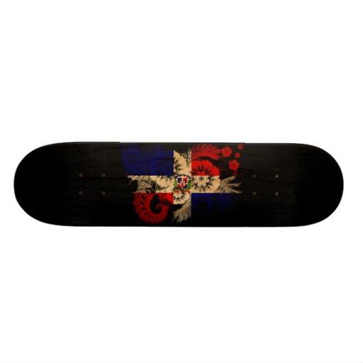 Dominican Republic Flag Skate Board Decks