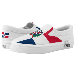 Dominican Republic Flag Slip-On Shoes