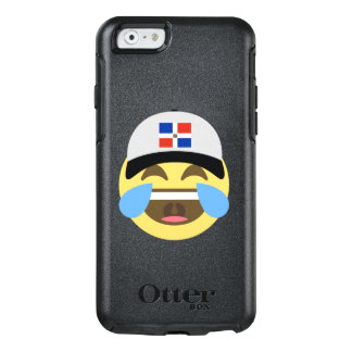 Dominican Republic Hat Laughing Emoji OtterBox iPhone 6/6s Case