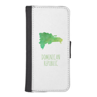 Dominican Republic iPhone SE/5/5s Wallet Case