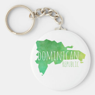 Dominican Republic Key Ring