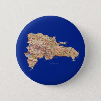Dominican Republic Map Button