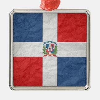 Dominican Republic Metal Ornament