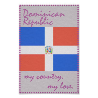 Dominican_Republic My Country My Love Poster