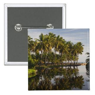 Dominican Republic, North Coast, Nagua, Playa 15 Cm Square Badge