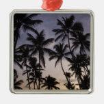 Dominican Republic, Samana Peninsula, Las 2 Christmas Tree Ornaments