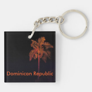 Dominican Republic souvenir keychain