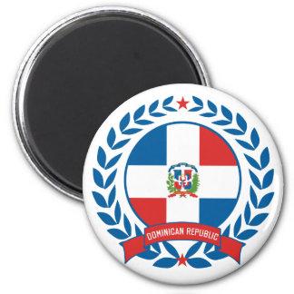 Dominican Republic Wreath Magnet