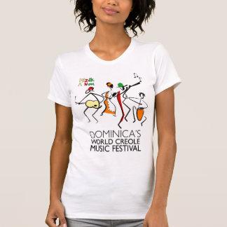 Dominica's World Creole Music Festival t-shirt