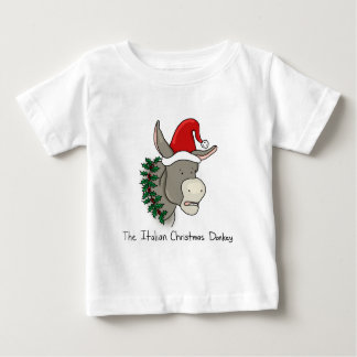 Dominick the Italian Christmas Donkey Baby T-Shirt