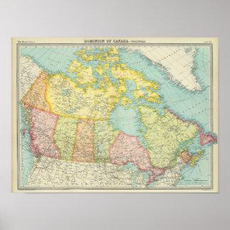 Dominion of Canada political Poster