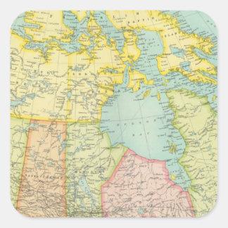 Dominion of Canada political Square Stickers